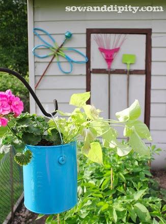 garden junk art