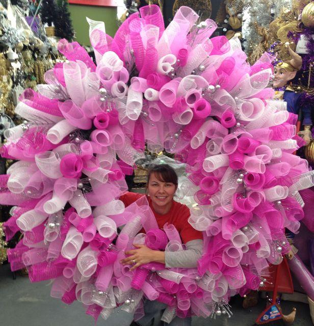 Decor Mesh Super Wreath Tutorial