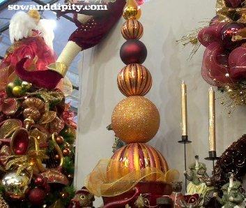 Christmas Topiary Balls.Christmas Ball Topiary By Sowanddipity Com Sow Dipity