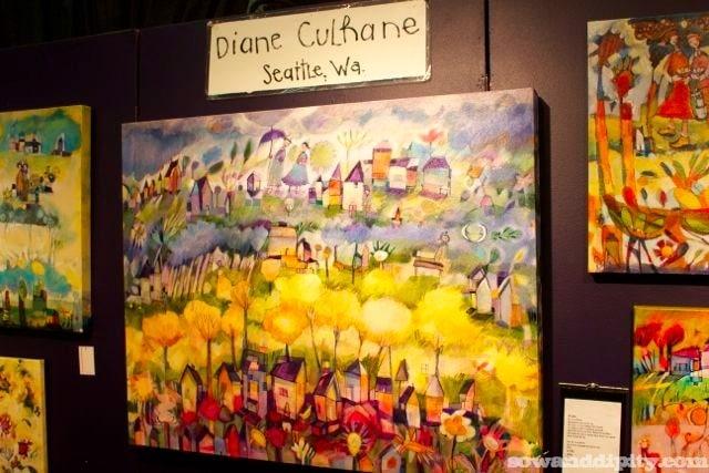 Artist Diane Culthane