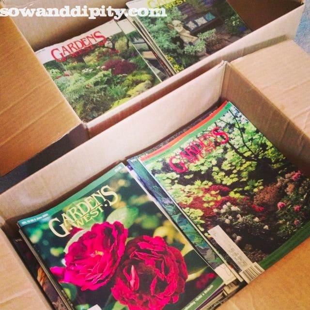 Garden's west magazine