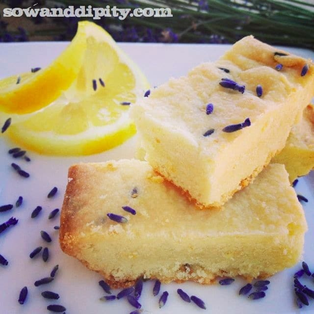 lavender lemon shortbread recipe