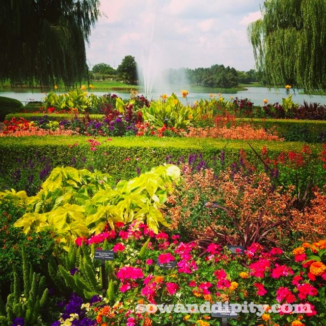 Botanical Gardens Chicago Hours Chicago Botanic Garden