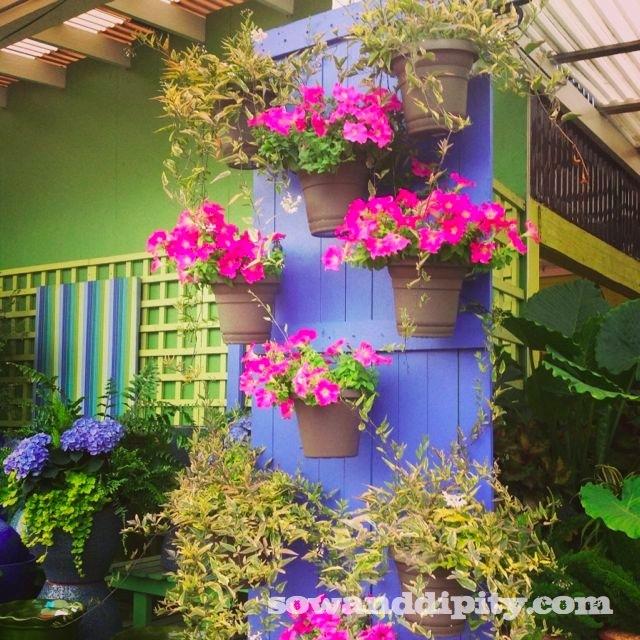 old door planter
