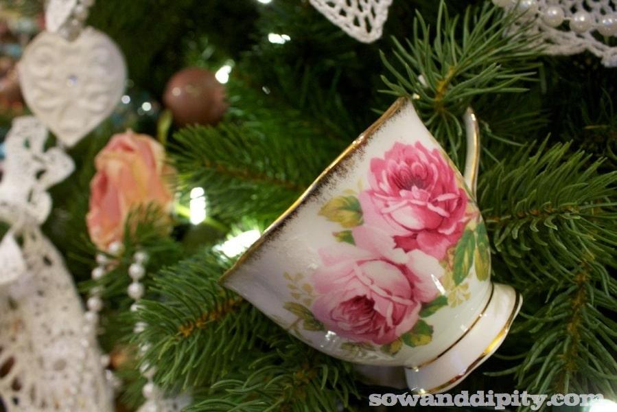 vintage tree ornament