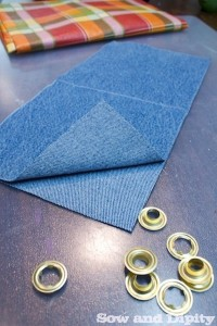 Plant pocket pattern piece