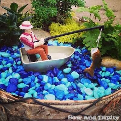 Gone Fishing Mini Garden 1 Sow Dipity