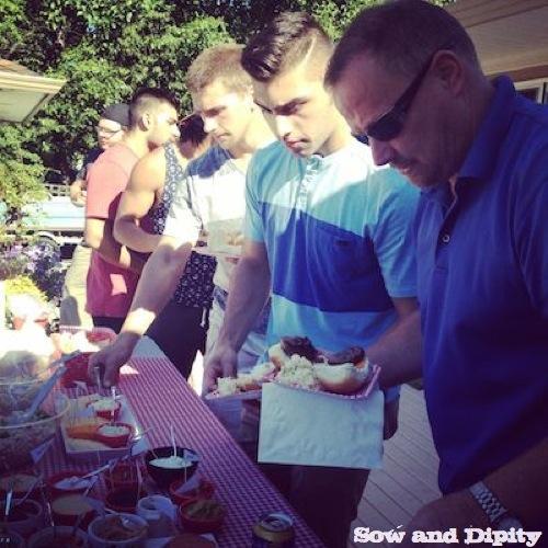 Slider BBQ Burger Bar Party 2
