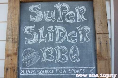 Slider BBQ Burger Bar Party 7