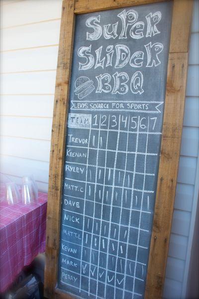 Slider BBQ Burger Bar Party 8