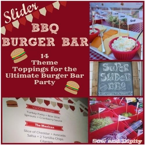 Slider Burger Bar Party