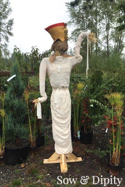 Cleopatra Scarecrow