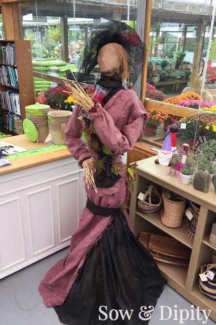Fashionista Scarecrow