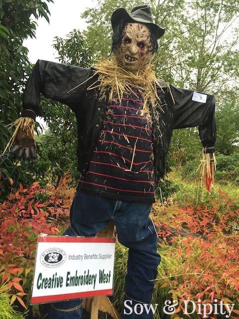 Freddy Kruger Scarecrow