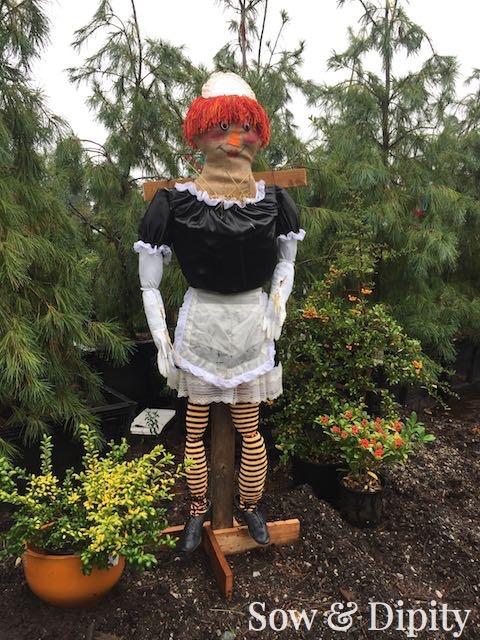 Maid Scarecrow