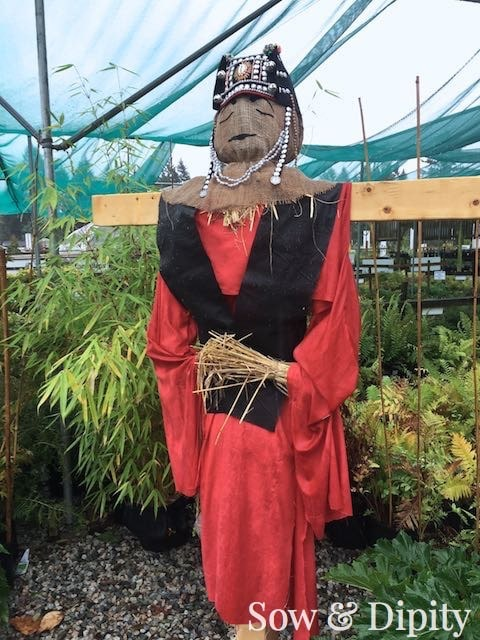 Tibet Monk Scarecrow