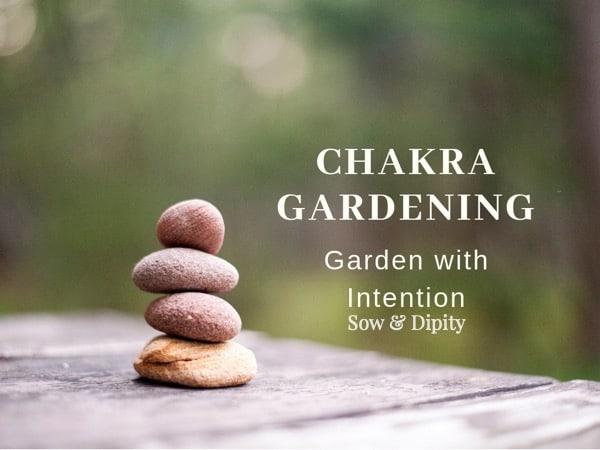 Chakra garden, garden with intention