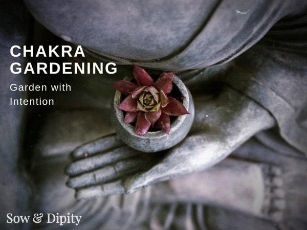 Chakra Gardening, garden with intention
